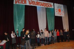 Rozdanie nagród na Dniu Wolontariatu 2010