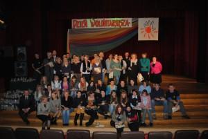 Nagrodzeni Wolontariusze na Dniu Wolontariatu 2011