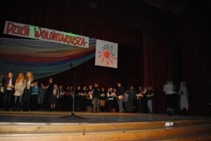 Rozdanie nagród na Dniu Wolontariusza 2011