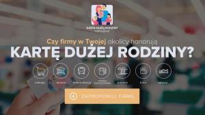 Strona internetowa Karty Dużej Rodziny - Zostań partnerem KDR - strona otwiera sie w nowym oknie
